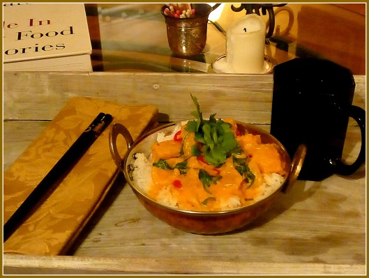 Butternut Squash, Onion, Yellow Pepper & Spinach Red Thai Curry